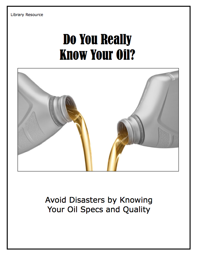 Do You Really Know Your OIl